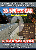 3D Sound Experience 3D Sports Car Amazingly Life Like WOW