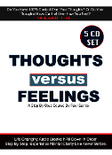 5CD Set Thoughts vs Feelings Audio Course LIMITED TIME OFFER