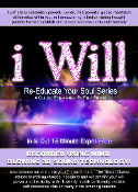 Re-Educate Your Soul Series 3D Sound I Will Affirmations Chakra