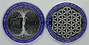 NEW COLOR Buy 1 Get 1 FREE Paul Santisi Energy Coins Silver/Blue
