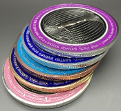 1 Of Each Color Paul Santisi Energy Coins Save $25 + FREE SHIP