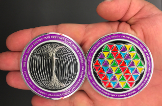 Paul Santisi Energy Coins RAINBOW + FREE SHIPPING