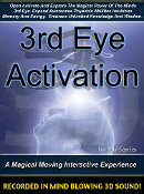 Interactive Open Activate 3rd Eye Minds Eye Pineal Gland In 3D
