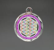 RAINBOW Paul Santisi PENDANT NO STONES FREE GLOBAL SHIPPING