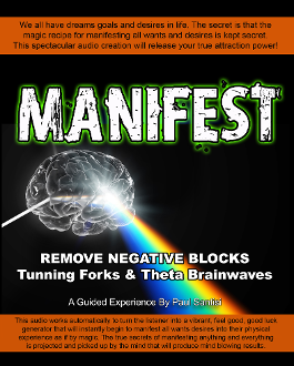 MANIFEST Guided Meditation Remove Blocks Tunning Forks Theta