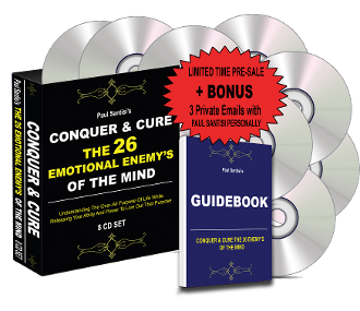 NEW 8 CD CONQUER & CURE THE 26 ENEMY'S OF THE MIND + GUIDEBOOK