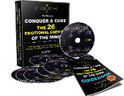 8 CD CONQUER & CURE THE 26 ENEMY'S OF THE MIND + GUIDEBOOK