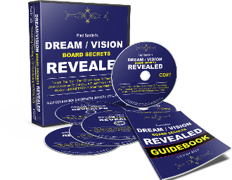 NEW COURSE - DREAM / VISION BOARD SECRETS REVEALED + BONUS PDF!