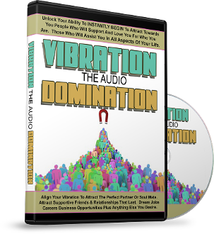 VIBRATION DOMINATION 3 Audio Set w/ 3D Guided Meditations
