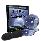 3CD 3rd Eye Activator + Rare Earth Magnet 14,300 Gauss Eye Mask