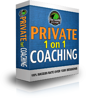 1 Session LIVE PERSONAL COACHING WITH PAUL SANTISI 1 HOUR