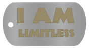 "NEW ""I AM LIMITLESS"" Empowerment Energy Tags PLUS FREE SHIPPING"